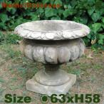 メディチ コロッサ ITALGARDEN(直径63cm×H58cm)(イタリア製 植木鉢 鉢カバー 大理石セメント製 プランター 観葉鉢 イタリアン)