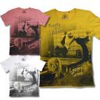 ルーニー テューンズ ピクチャー柄 Tシャツ 半袖 メンズ 薄手 黄 桃 白 再入荷 / bia247
