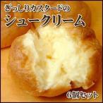 カスタードシュークリーム(6個セット)