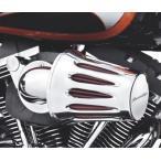 ハーレーダビッドソン Harley Davidson  スクリーミングイーグル ヘビーブリーザー フィルターカバー ティアードロップ  クローム