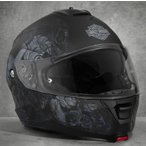 ショッピングハーレーダビッドソン ハーレーダビッドソン Harley Davidson  ヘルメット  Men's Intrepid Sun Shield H24 Modular Helmet ブラック