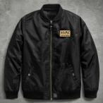 ハーレーダビッドソン Harley Davidson  メンズ ナイロン ジャケット  Men's HDMC Patch Slim Fit Bomber Jacket