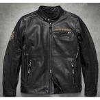 ショッピングハーレーダビッドソン ハーレーダビッドソン Harley Davidson  メンズ レザー ジャケット  Men's 115th Anniversary Leather Jacket