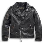 ショッピングハーレーダビッドソン ハーレーダビッドソン メンズ レザー ジャケット  Harley-Davidson  Men's Mastewr Distressed Slim Fit Leather Biker Jacket