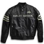 ハーレーダビッドソン Harley Davidson  メンズ ナイロン ジャケット  Men's Heritage Nylon Bomber Jacket