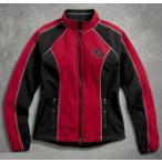 ハーレーダビッドソン  レディース ジャケット  Harley-Davidson  Women's Scroll Skull Windproof Jacket