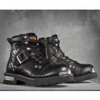 ショッピングハーレーダビッドソン ハーレーダビッドソン Harley Davidson  メンズ ブーツ  Men's Brake Buckle Performance Boots  ブラック