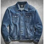 ハーレーダビッドソン Harley Davidson  メンズ ジャケット   Men's Denim Jacket with Eagle