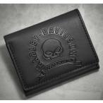 ショッピングハーレーダビッドソン ハーレーダビッドソン Harley Davidson  財布  Men's Skull Tri-Fold Wallet