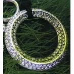 クロムハーツ  Chrome Hearts ダイヤモンド装飾 CHオーリング ペンダントトップ