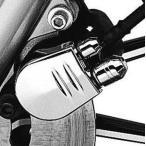 ショッピングハーレーダビッドソン ハーレーダビッドソン Harley Davidson  ブレーキブリーダースクリュ-カバー  SOFTAIL FLSTC Heritage Softail Classic用