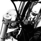 ハーレーダビッドソン Harley Davidson  クローム・アッパーフォークナットカバー  DYNA FXDF Fat Bob ファットボブ用