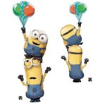 ミニオンズ 風船 ユニバーサル キャラクター 誕生日 記念日 クラブ 面白い バースデー バルーン かわいい デザイン