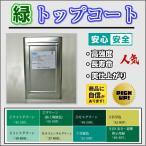 送料無料!! 高強度 FRPトップコート緑 グリーン 5kg 促進剤入り  硬化剤100gセット