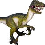 FRP恐竜オブジェ ドロマエオサウルス