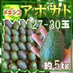 【送料無料】メキシコ産 アボカド27-30玉 約5kg