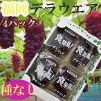 【送料無料】大阪産 デラウェア 2箱8パック入り L〜LL 1箱約1.2kg ※クール便発送