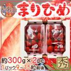 【送料無料】和歌山県産 まりひめいちご2パック 1パック約280g