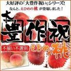 大豊作祝い桃!不選別・不ぞろいですがご自宅用に最適!【訳あり】の画像
