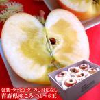 りんご こみつ 森県産究極の蜜入りリンゴ♪[こみつ5〜6玉]【お歳暮】【のし対応不可・ギフト包装不可】送料無料