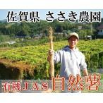 自然薯 家庭用約2kg(3〜6本)(佐賀県 ささき農園)有機JAS無農薬野菜・送料無料・産地直送・オーガニック・訳あり・お徳用