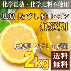 ショッピング広島 広島(とびしま)レモン 2kg 無選別 自然農法登録中 (広島県 とびしま農園)