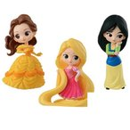 【7月予約】 Q posket Disney Characters petit vol.3 ベル・ラプンツェル・ムーラン 全3種セット