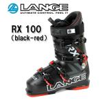 15/16 LANGE(ラング)スキーブーツ「RX 100」BLACK×RED