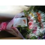 ガーベラ 50本の花束 送料無料「50〜60cm」誕生日 母の日 バースデー プレゼント 産直  贈り物
