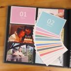 アルバム用カード ナカバヤシ Nakabayashi×OURHOME マンスリーカード OUR-INC-2
