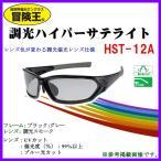 冒険王  調光ハイパーサテライト  HST-12A   フレーム/ブラック×グレー  レンズ/調光スモーク *6