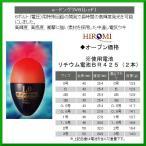 ヒロミ産業  電気ウキ  e-ドングリV6  レッド  サイズ 2B  送料無料