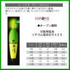 ヒロミ産業  電気ウキ  e-ソフトII  グリーン  おもり入り  サイズ 3号  送料無料