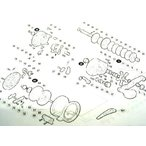 シマノ スコーピオン オシア ジガー1000 固定ボルト(部品 NO.51)