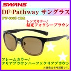 SWANS  スワンズ  DF-パスウェイ サングラス  PW-0065 CBR  フレーム/クリアブラウンハーフ×クリアブラウン  レンズ/偏光フォクシーブラウン *6