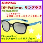 SWANS  スワンズ  DF-パスウェイ サングラス  PW-1602 SBLU  フレーム/マットスモーク×クリアブルー  レンズ/イエローミラー×ライトスモーク *6