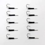 エギ用 替針 タコ釣り用 10個 セット 3.5/4.0号 対応 【H20takoegihooks】フック エギ針