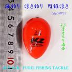 海釣り用 円錐ウキ 2.5号オモリ適合 H27fgfp08w25 ABS
