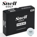 ショッピングゴルフボール 2018 スネル ゴルフ SNELL GOLF MTB BLACK ゴルフボール US仕様 1ダース(12球入り)「メール便不可」「あすつく対応」