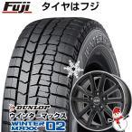 スタッドレスタイヤ ホイールセット ライズ/ロッキー ダンロップ ウインターマックス02 WM02 195/65R16 16インチ N52B 6J 6.00-16
