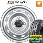 145/80R12■ELBE エルベ オリジナル スチール 3.50-12■ダンロップ エナセーブ VAN01 6PR サマータイヤ ホイールセット