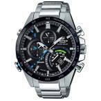 ショッピングカシオ CASIOカシオ腕時計 エディフィス  ソーラー時計スマートフォンリンクタイムトラベラーシリーズEQB-501XDB-1AJF
