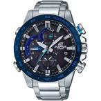 ショッピングカシオ CASIOカシオ腕時計 エディフィス  ソーラー時計レースラップクロノグラフEQB-800DB-1AJF