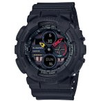CASIO Gショック カシオ腕時計アナデジBlack × Neon GA-140BMC-1AJF
