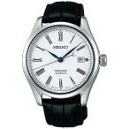 SEIKO セイコー機械式腕時計 メカニカル プレザージュ メンズほうろうダイヤルSARX049