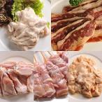 肉のあおやま 焼肉セットの決定版 新・みんなの焼肉セット(味付き牛カルビ・味付きとり串・味付き手羽先・豚みそホルモン・豚塩ホルモン)