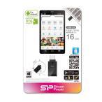 Silicon Power タブレット スマートフォンでも使える Mobile USB X21シリーズ 16GB 永久保証 SP016GBUF2X21V1K