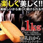 豆乳おからプロテインクッキー1kg/ダイエットスイーツ/ソイプロテイン