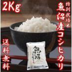 魚沼産コシヒカリ 御歳暮 ギフト 29年度産 お米 2kg(2キロ×1袋) 特別栽培米 送料無料