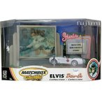 ELVIS Collection Drive In matchbox collectibles white 1▒▀